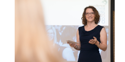 Annekatrin Buhl | Moderation bei den Trendence Employer Branding Awards Wien